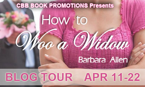 $25 #Giveaway Interview HOW TO WOO A WIDOW by Barbara Allen 4.27