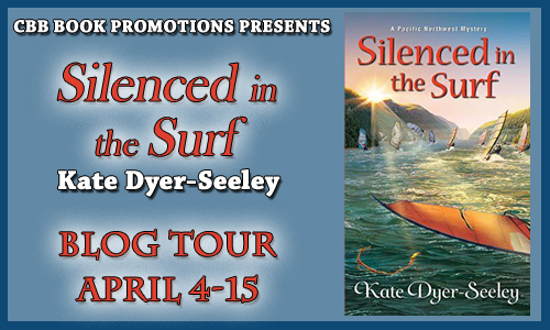 #Giveaway Interview SILENCED IN THE SURF by Kate Dyer-Seeley @KateDyerSeeley 4.20