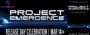 #Giveaway PROJECT EMERGENCE by Jamie Zakian @demoness333 @Month9Books 3.26