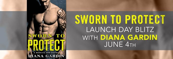 #Giveaway Excerpt SWORN TO PROTECT by Diana Gardin @DianaLynnGardin @ForeverRomance 6.17