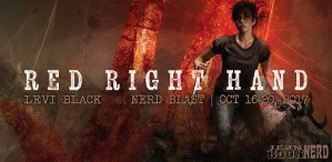 #Giveaway Excerpt RED RIGHT HAND by Levi Black @JamesTuckwriter @TorBooks 11.8