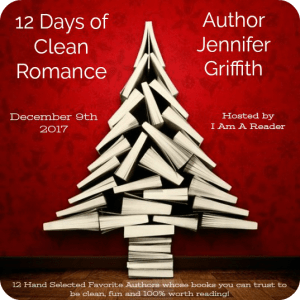 $25 #Giveaway JENNIFER GRIFFITH – 12 Days of Clean Romance @GriffithJen Ends 12.22