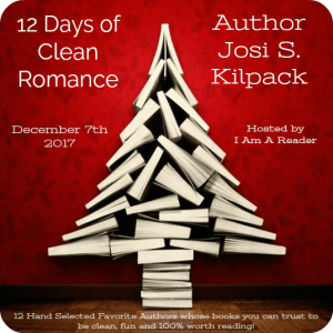 $25 #Giveaway JOSI S. KILPACK -12 Days of Clean Reads Ends 12.20