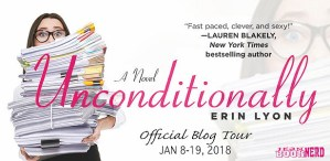 #Giveaway What's On ERIN LYON'S Desk? #Win UNCONDITIONALLY by @WritingLyon @forgereads Ends 2.2