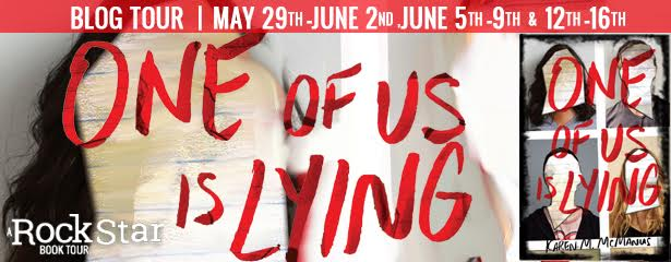 #Giveaway Interview ONE OF US IS LYING by Karen McManus ...
