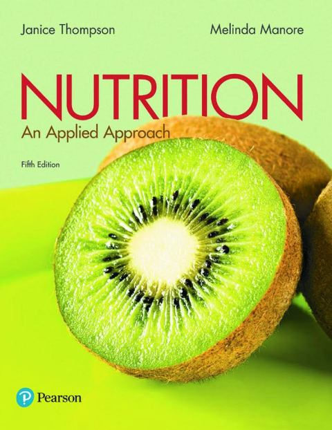 Nutrition an Applied Approach 5th Edition pdf download