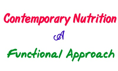 contemporary nutrition a functional approach 5th edition