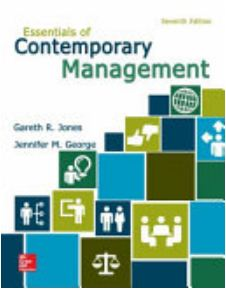Essentials of Contemporary Management 7th edition