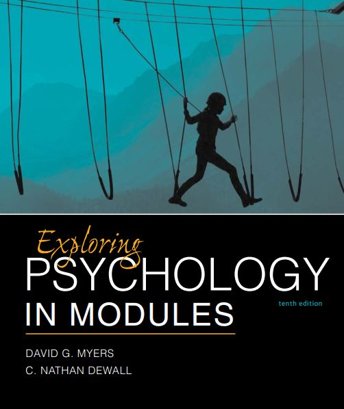 Exploring Psychology in Modules 10th edition pdf download