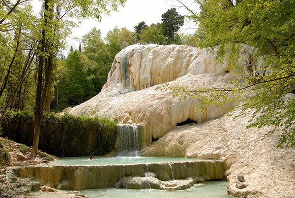 Thermal baths and free natural pools  Booking Amiata