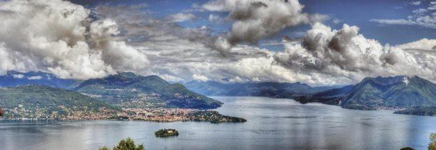 Il lago Maggiore visto dalle alture circostanti. (immagine di Nico Cavallotto via Flickr)