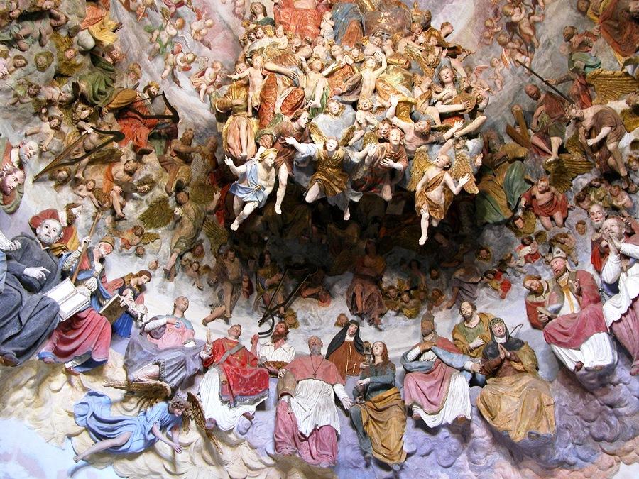 La straordinaria cappella dell'Incoronazione di Maria a Serralunga di Crea