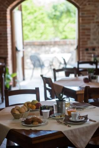 Sala colazione Hotel le botti guarene