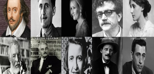 10 Most Famous Authors You Should Read At Least Once In A Life Time