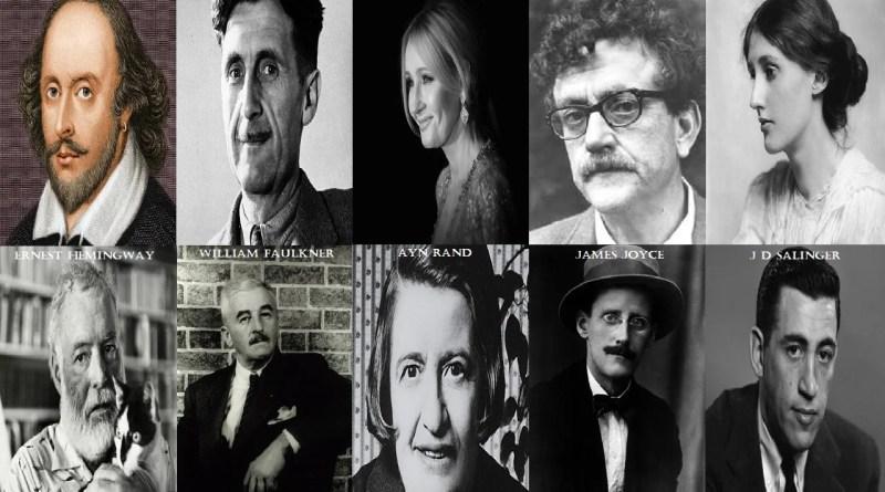 Most Famous Authors