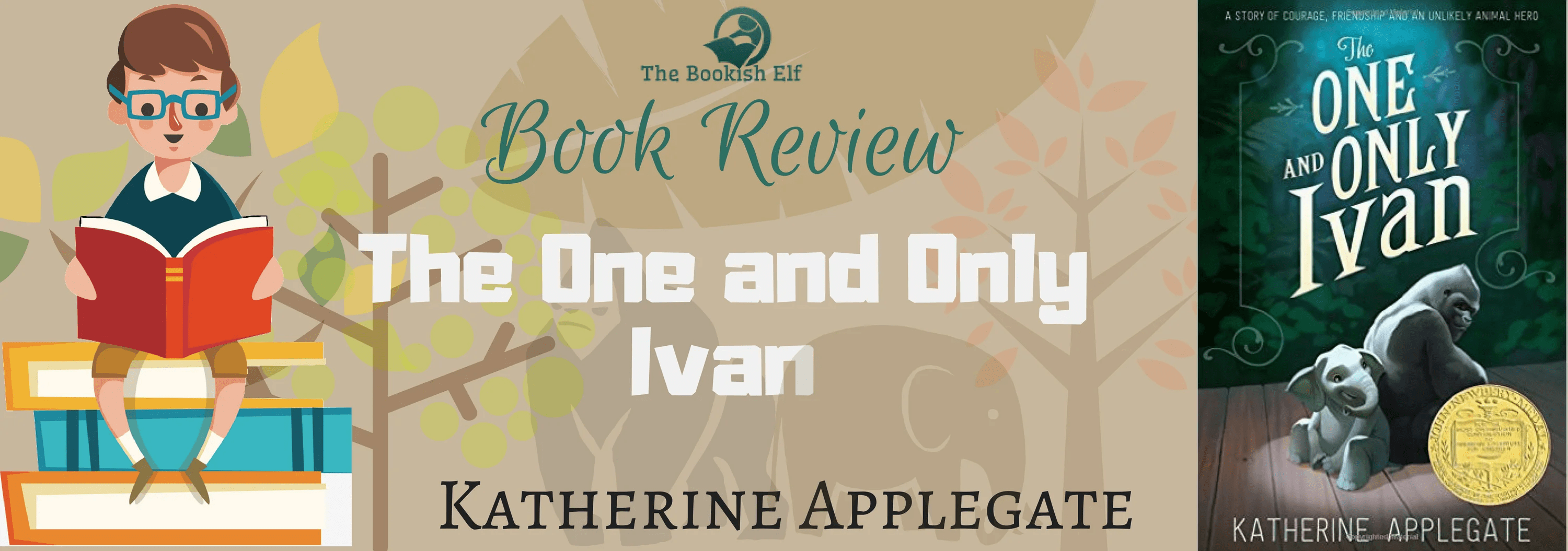 Book Review: The One and Only Ivan by Katherine Applegate