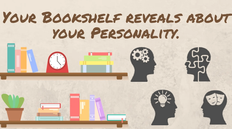 Bookshelf reveals about your personality