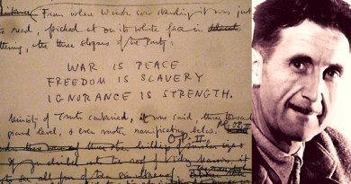 George Orwell Archive added in UNESCO
