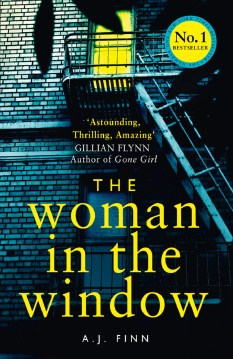 Book Review: The Woman In The Window by A J Finn