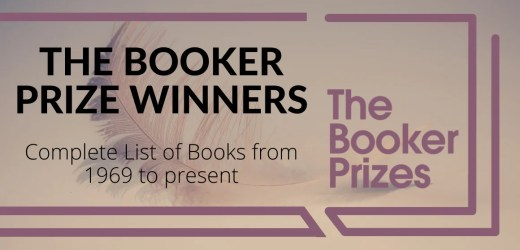 The Complete List of The Booker Prize Winner Books
