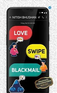 Book Review - Love Swipe Blackmail by Nitish Bhushan