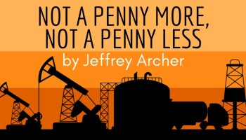 Book Review - Not a Penny More Not a Penny Less by Jeffrey Archer