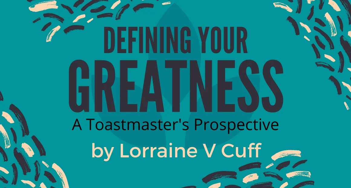 Book Review: Defining Your Greatness by Lorraine V Cuff