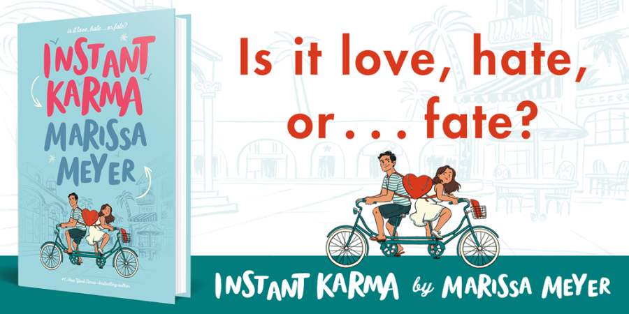 Instant Karma by Marissa Meyer: Book Tour