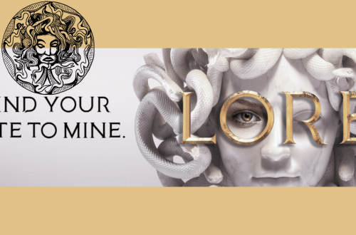"Lore Banner ""Bind Your Fate to Mine"""