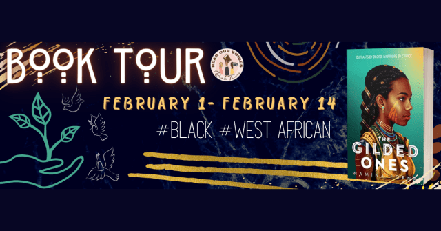 HOV tour banner for The Gilded Ones