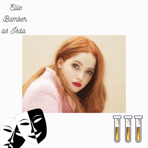 Ellie Bamber as Isda