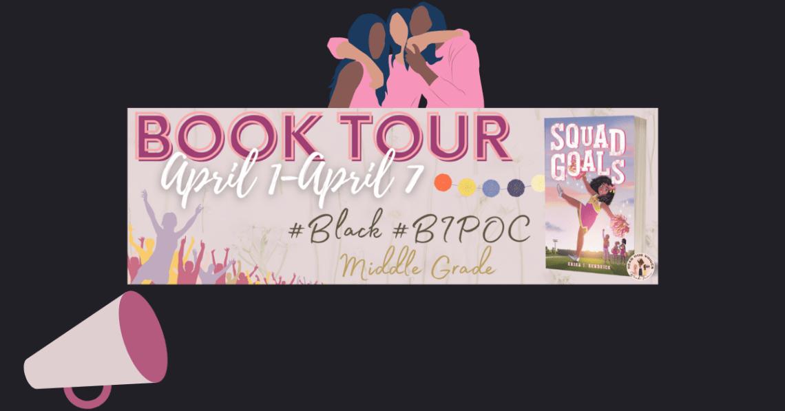 Squad Goals Book Tour Banner