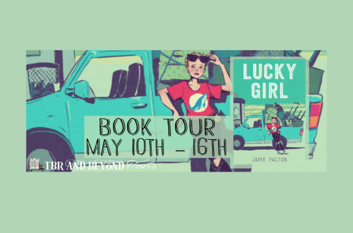 Tour Banner for Lucky Girl by Jamie Pacton