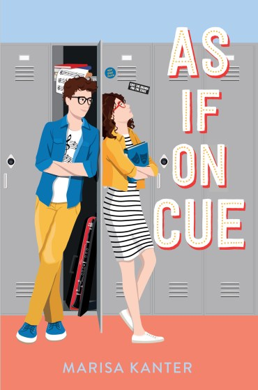 As If On Cue by Marisa Kanter book cover