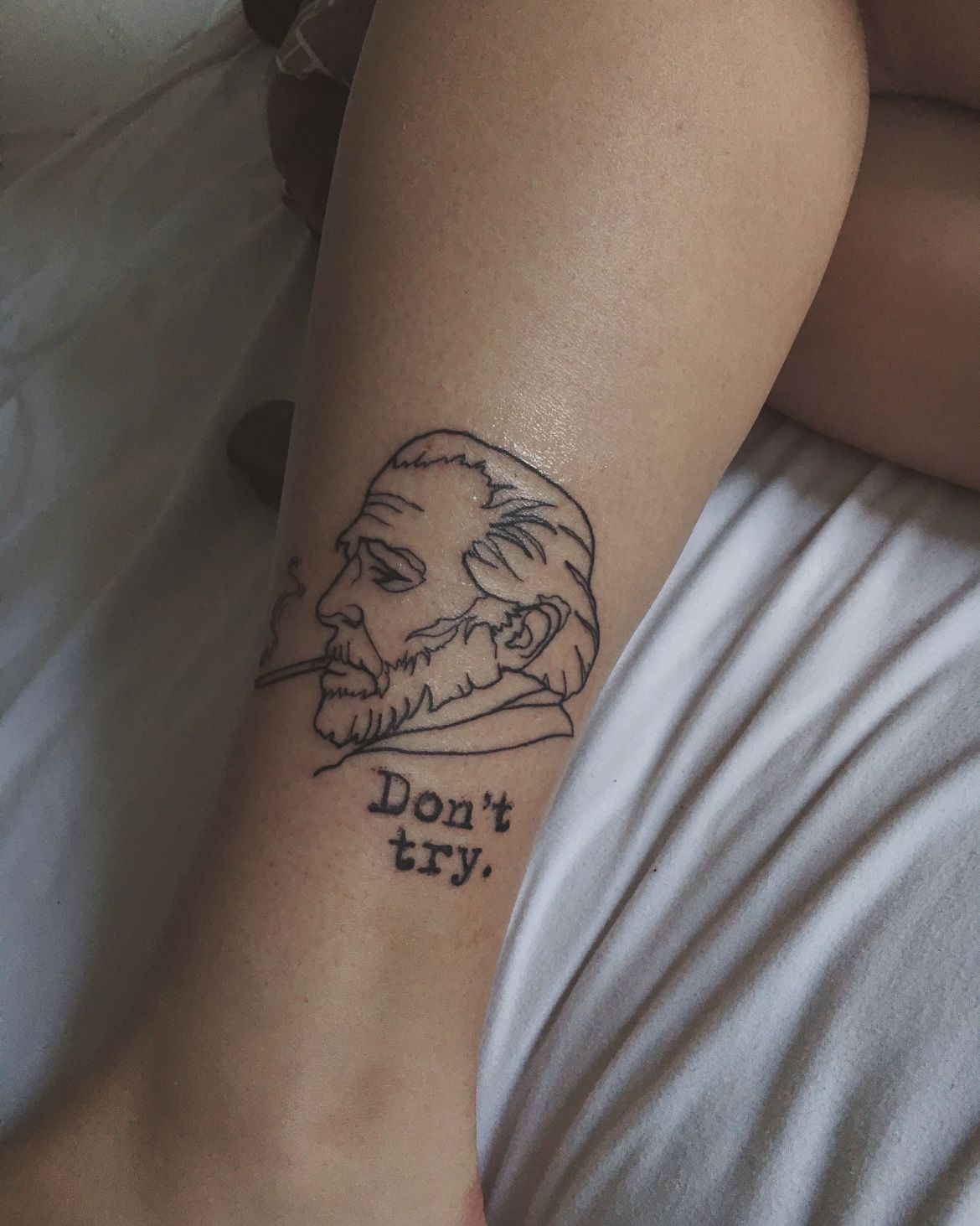 dont-try-tattoo-charles-bukowski