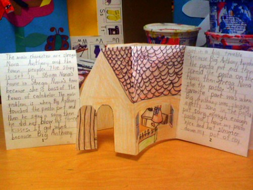 D English Bookmaking With Kids