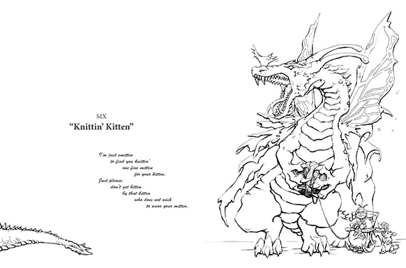 PDFs or Print Coloring Book? Today I Draw Dragons Offers