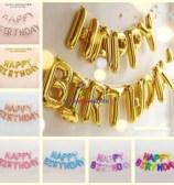 Happy Birthday Foil DIY