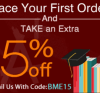 Discount 15% On First Order