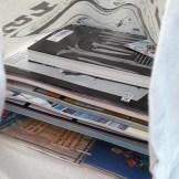 Tasche mit Comics