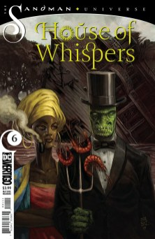Sandman Universe House of Whispers #6 (DC Vertigo) Comiccover