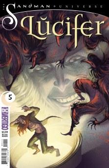 Sandman Universe Lucifer #5 (DC Vertigo) Comiccover