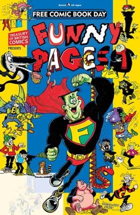 Treasury of British Comics Presents: Funny Pages FCBD 2019