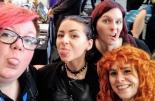 Katrin Gal und die 3 Frauen vom Comicklatsch-Podcast