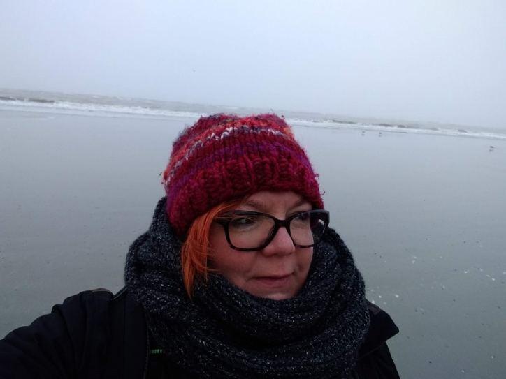 Langeoog - ich am Strand