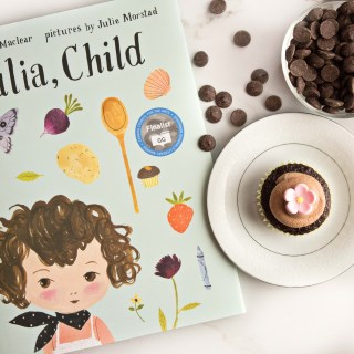 """Julia, Child"" Inspired Chocolate Almond Cupcakes"