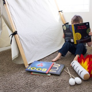 Delightfully Spooky Books and Indoor Camp-Out Activity