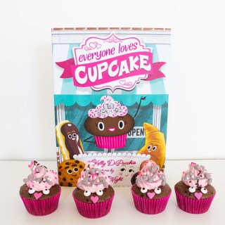 """Everyone Loves Cupcake"" inspired Cupcake Tutorial"