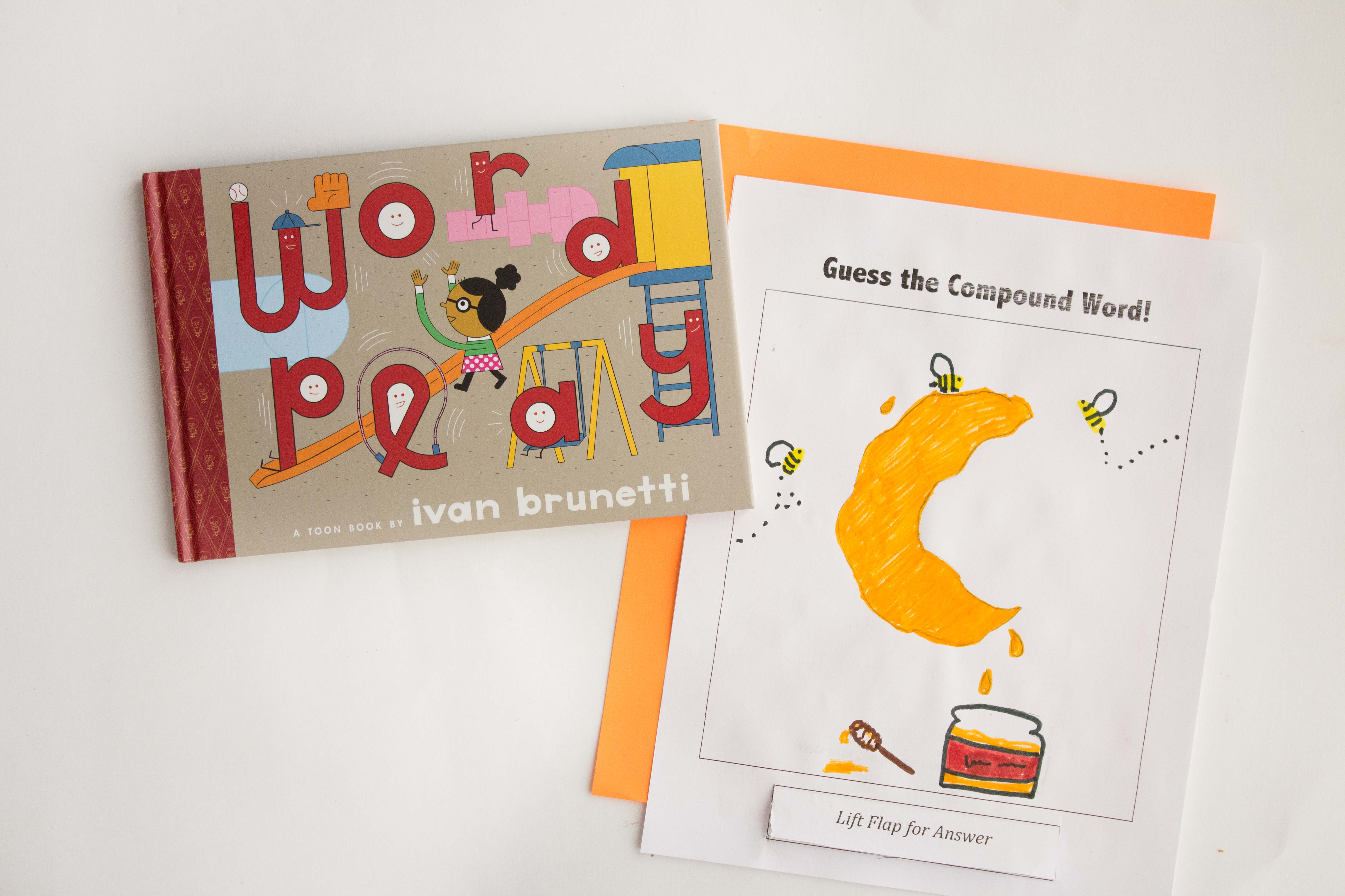 Word Play And A Compound Word Activity Book Nerd Mommy