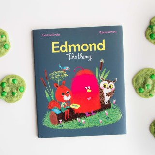 """Green """"Bravery"""" Cookies inspired by """"Edmond, the Thing"""""""